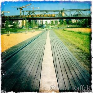 U-Bahn Viadukt, Park am Gleisdreieck